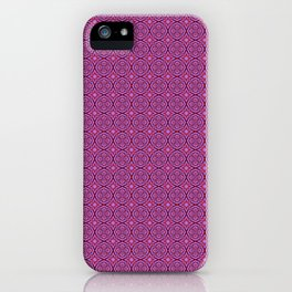 Red & Purple III iPhone Case