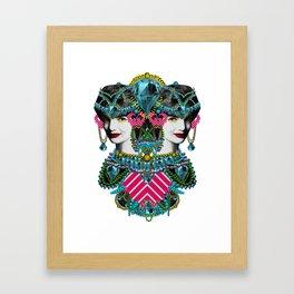 kie ke Framed Art Print