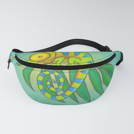 Colorful Chameleon! Fanny Pack