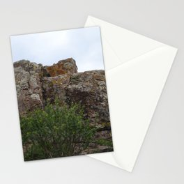 Mountain and Cactus overlay Stationery Cards