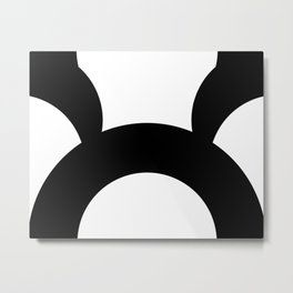 Contrast B Metal Print