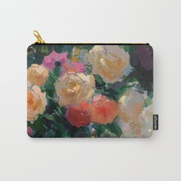 Roses & Fruits Carry-All Pouch