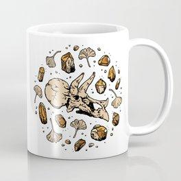 Triceratops Rocks! | Citrine Quartz Coffee Mug