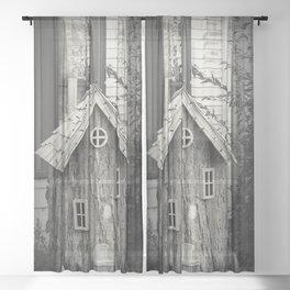 Munny Pit Sheer Curtain