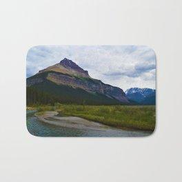 Tangle Ridge in the Columbia Icefields area of Jasper National Park, Canada Bath Mat