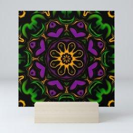 Secondary Kaleidoscope Mini Art Print