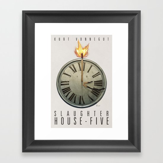 Slaughterhouse-Five Framed Art Print