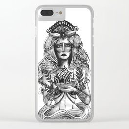 the call of the ocean Clear iPhone Case