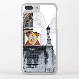 Town hall of Middelburg Clear iPhone Case