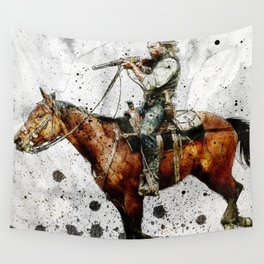 Western Outlaw Cullen Bohannon Wall Tapestry
