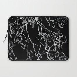 Birch. tree leaves. nature, graphic art Laptop Sleeve