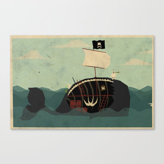 Whaleboat Canvas Print