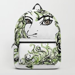 Female elf profile 1 Backpack