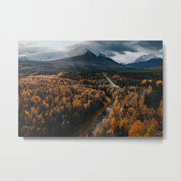 Arctic Autumn - Landscape and Nature Photography Metal Print