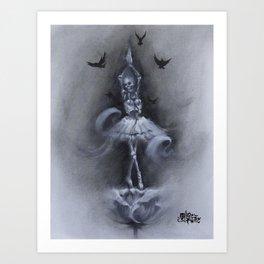 Skellerina Art Print