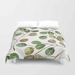 Silver Dollar Eucalyptus – Green Palette Duvet Cover