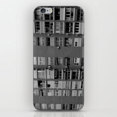 Block of flats. Bee project.  iPhone & iPod Skin