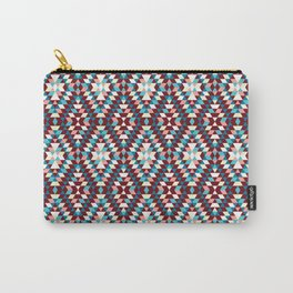 Cool vintag colorful pattern #society6 Carry-All Pouch