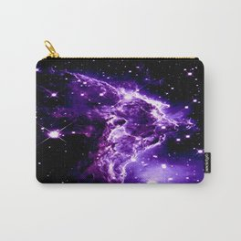 Purple Monkey Head Nebula Galaxy Space Carry-All Pouch