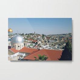 Jerusalem View Metal Print