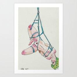 4/16   BDSM Watercolor Series Art Print