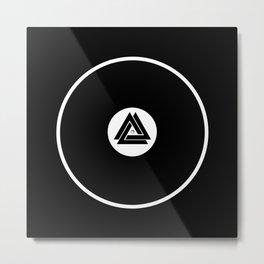 Infinity Vinyl Metal Print
