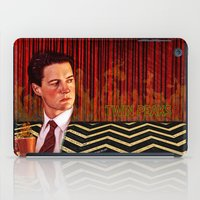 twin peaks iPad Cases featuring Twin Peaks  by Magdalena Almero