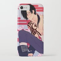 dmmd iPhone & iPod Cases featuring cowjack by JohannaTheMad