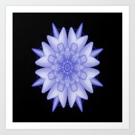 Soothing moments... Art Print