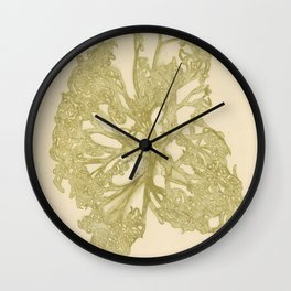 delicate starfish Wall Clock