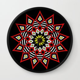 Stars Up to the Sky | Mandhala | Mother Star Wall Clock