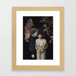 Annunciation (LE, 10 of 10 prints left) Framed Art Print