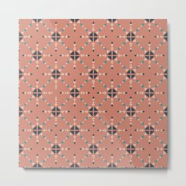 Geometric Traditional #10 Metal Print