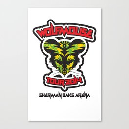 Wolfmouse at the Sherman Oaks Arena Canvas Print