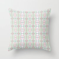 ikat Throw Pillows featuring ikat by a.r.r.p.