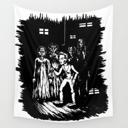 A step into Oblivion Wall Tapestry