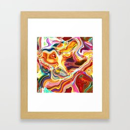 Abstract Glow Framed Art Print