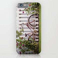 Bike with Fence & Flowers Slim Case iPhone 6s