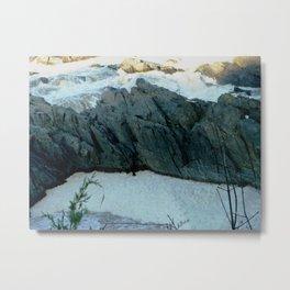 Foamy falls Metal Print