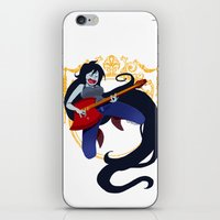 marceline iPhone & iPod Skins featuring Marceline by Roe Mesquita