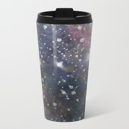 Splattered Stars Metal Travel Mug