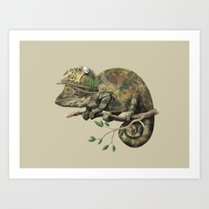 Born to Hide  Art Print