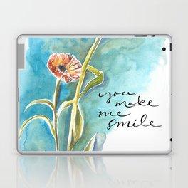 You Make Me Smile Laptop & iPad Skin