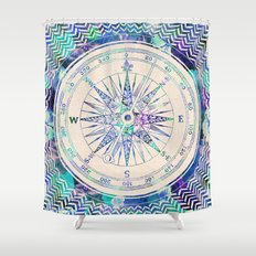 Follow Your Own Path Shower Curtain