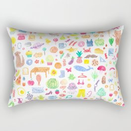 A few of my favourite things Rectangular Pillow