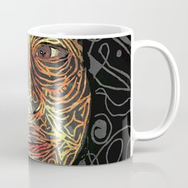 Celsa - Awareness peeks in. Coffee Mug