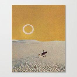 Salinero Canvas Print