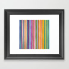 STRIPES10 Framed Art Print