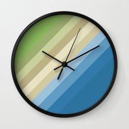 Rainbow of colors 2 Wall Clock