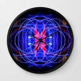 Dances with Light, Part II Wall Clock